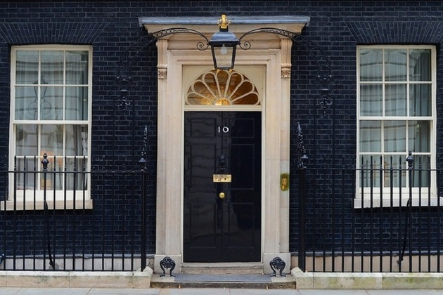 There is a way to 10, Downing street - Theresa May's,