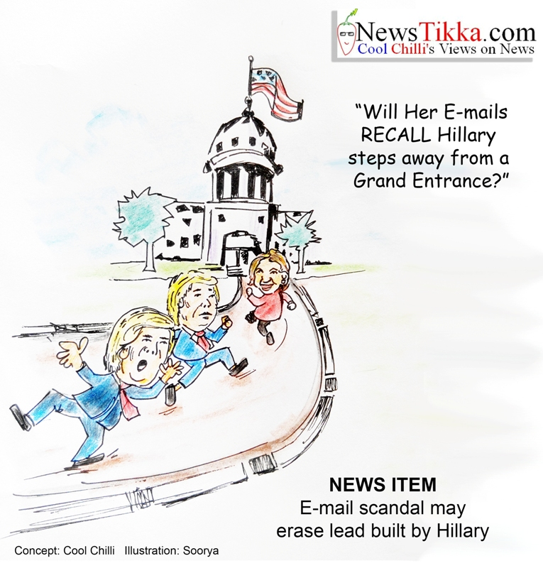 Her e-mails may recall Hillary